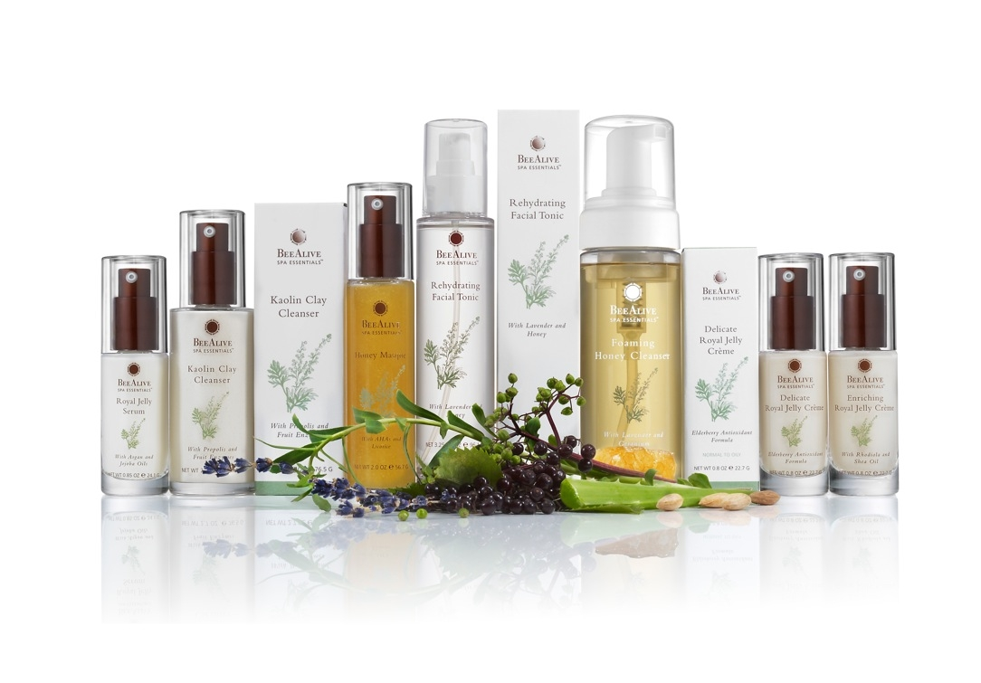 Beealive inc introduces all natural skin care line for A skin care salon