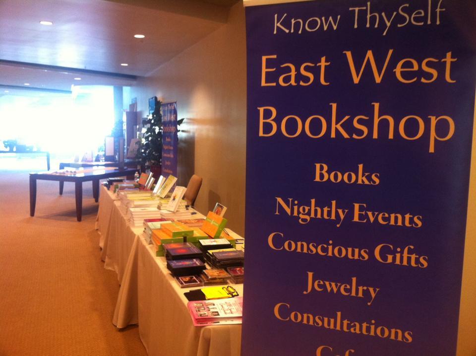 East West Bookshop Seattle interior for Facebook