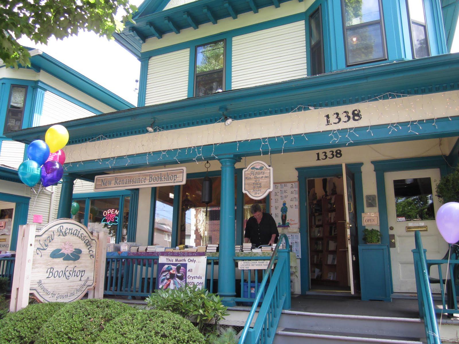 New Renaissance Bookshop image for Facebook