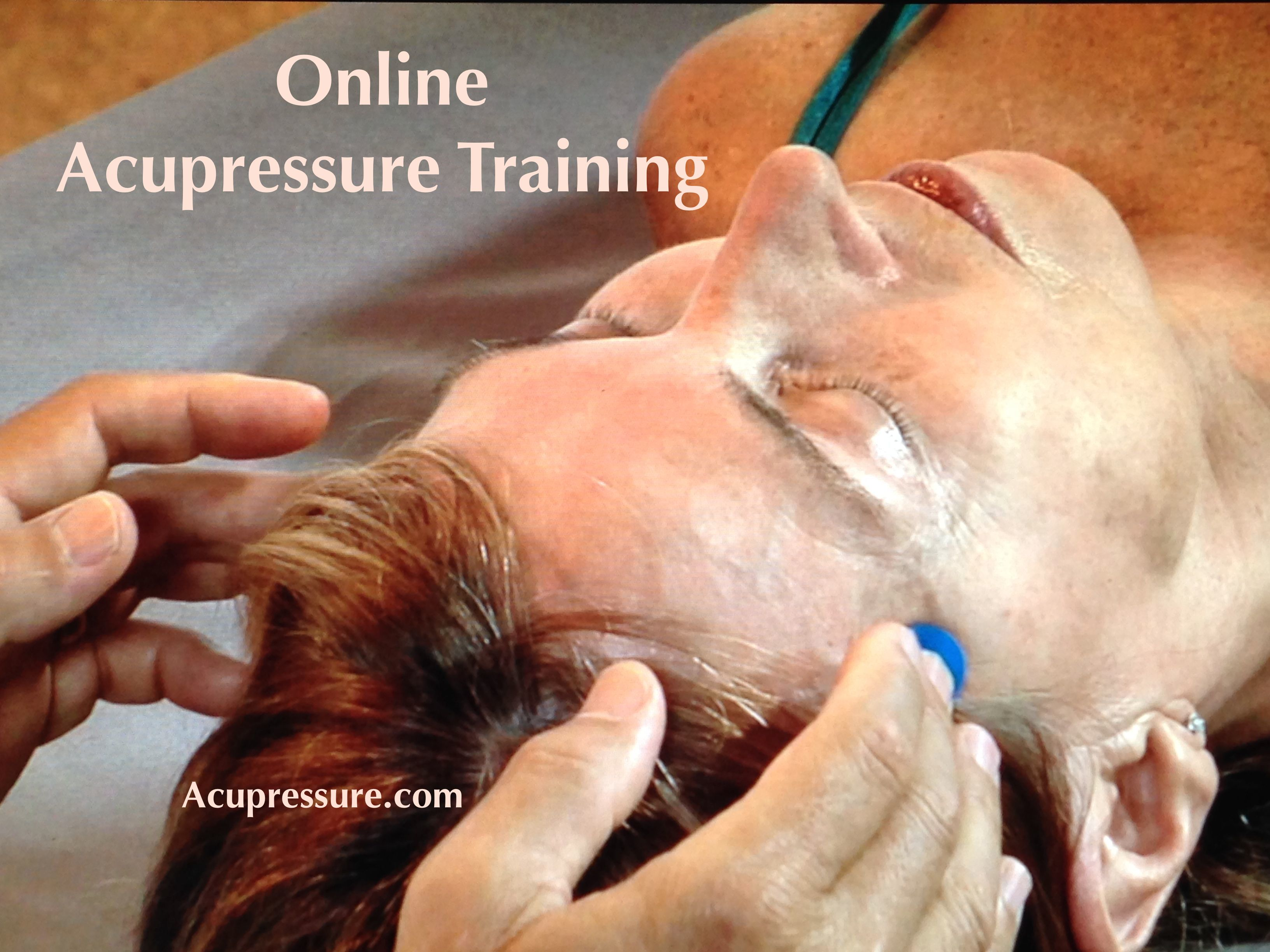 Acupressure Mastery Certification Online Training
