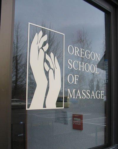 Oregon School of Massage logo for Facebook