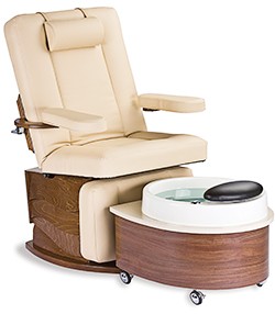 New Pedi-Lounger By Living Earth Crafts Designed to Accommodate Clients of All Heights, MASSAGE Magazine