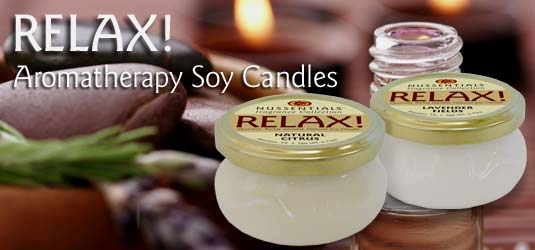 RELAX! Soy Candles