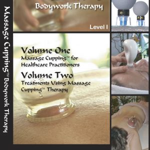 DVD: Massage Cupping Bodywork Therapy, Volume 1 and 2