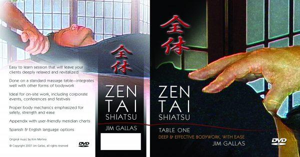 Zen Tai Shiatsu, Table 1