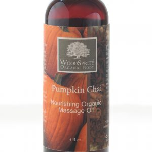 Pumpkin Chai Organic Massage Oil