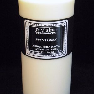 Traditional Scented Soy Pillar Candles