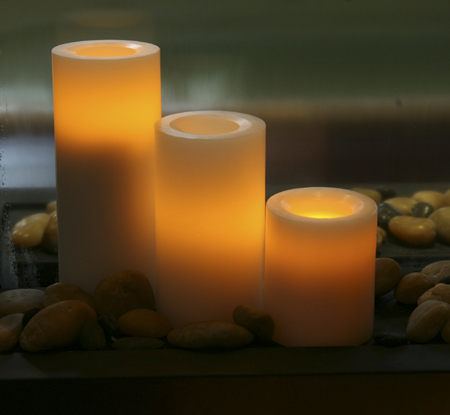Battery Operated and Rechargeable Flameless Candles