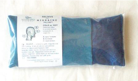 Relieve your Migraine Pillow