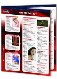 Aromatherapy Laminated Chart