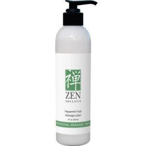 Zen Organics Peppermint Foot Massage Lotion