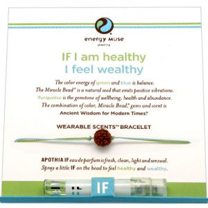 Wearable Scents Bracelet-Healthy/Wealthy