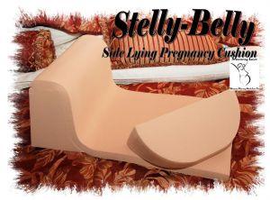 Stelly-Belly Side Lying Pregnancy Cushion