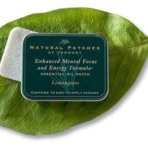 Lemongrass Essential OIl Aromatherapy Body Patch