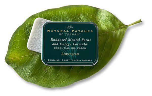 Lemongrass Essential OIl Aromatherapy Body Patch