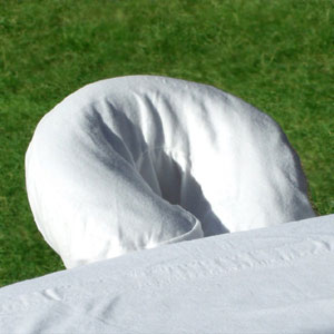 Elation US Made luxury cotton flannel face rest cover