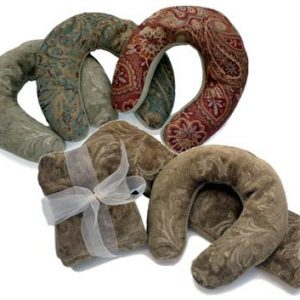 Brocade Luxury Neck Pillows and Neck Wrap