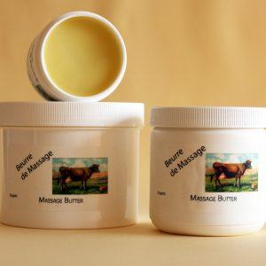 Buerre de Massage - Massage Butter - Organic