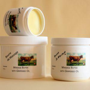 Buerre de Massage - Massage Butter - Grapeseed