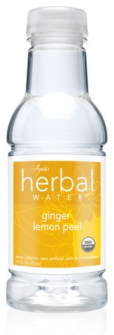 Ayala's Herbal Water - Ginger Lemon Peel (16oz/12pk)