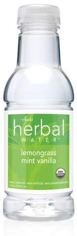 Ayala's Herbal Water - Lemongrass Mint Vanilla (16oz/12pk)