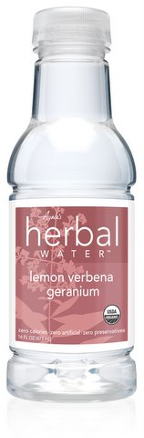 Ayala's Herbal Water - Lemon Verbena Geranium (16oz/12pk)