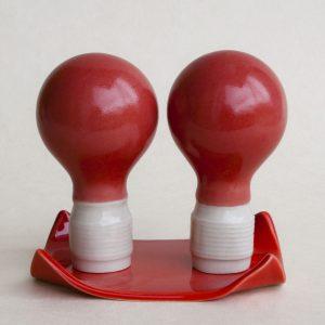 Ceramic globes