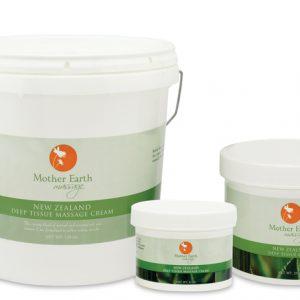 Mother Earth New Zealand Deep Tissue Massage Cream