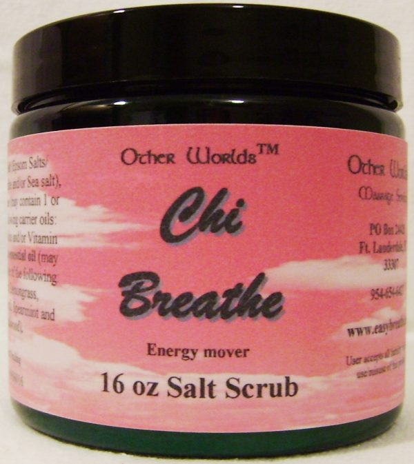 Chi Breathe Salt Scrub