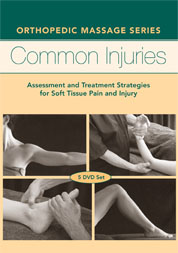 Orthopedic Massage: 5-disc Common Injuries Series