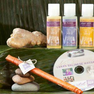 Organic, Tropical Massage Oils & Balinese Massage DVD