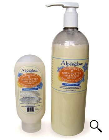 Alpenglow Shea Butter Hand & Body Lotion