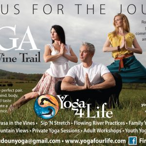Yoga on the Wine Trail