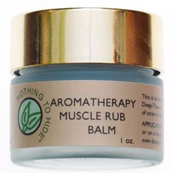 Aromatherapy Muscle Rub Balm