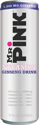 Mr. Pink Ginseng Drink - Sugar Free