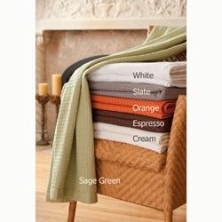 Modern Design Waffle Weave Bath Sheets & Throw Blankets