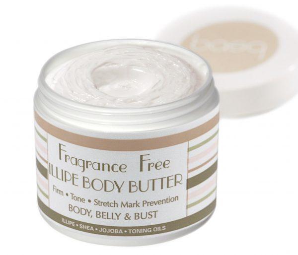 Fragrance Free Illipe Butter