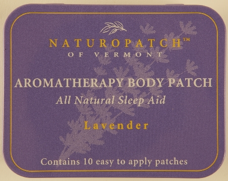 Lavender Aromatherapy Body Patch - All Natural Sleep Aid