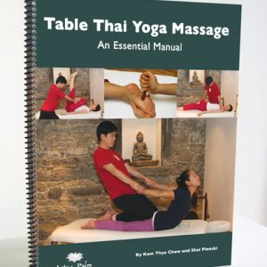 Table Thai Yoga Massage workbook