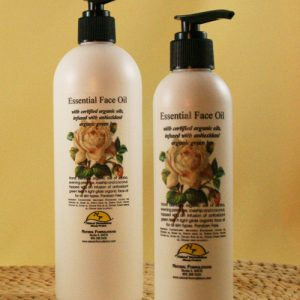 Essential Face Oil with Certified Organic Ingredients