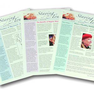 $99 Massage Newsletter Marketing Kit