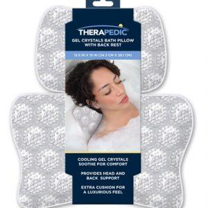 Therapedic Gel Crystals Bath Pillow
