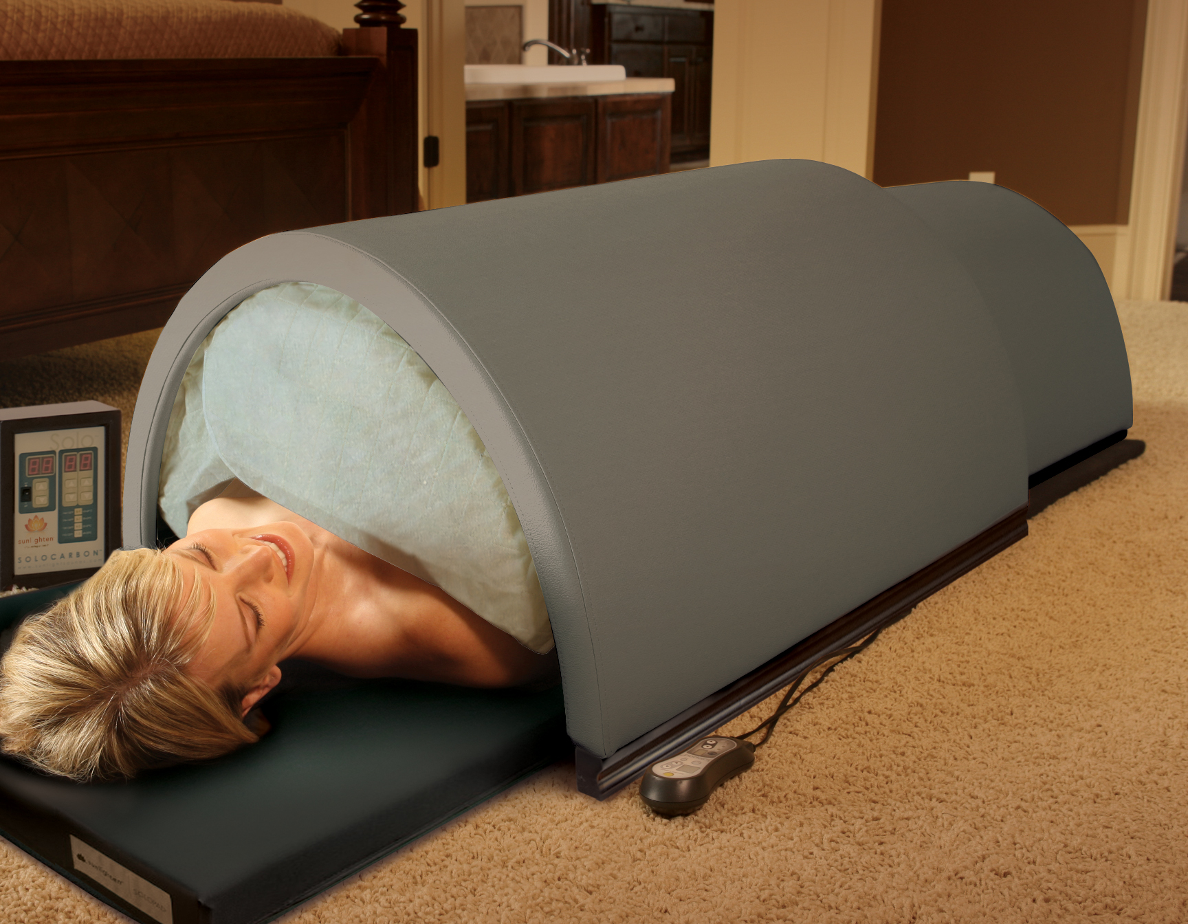Solo Portable Far Infrared Sauna Products Directory Massage Magazine