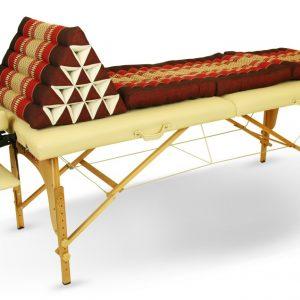 Thai Triangular Pillow with Three-Fold Mattress