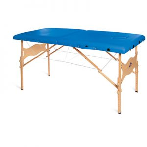 3B Basic Portable Massage Table Blue