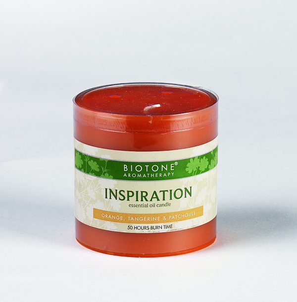 Essential Oil Pillar Candle - Inspiration