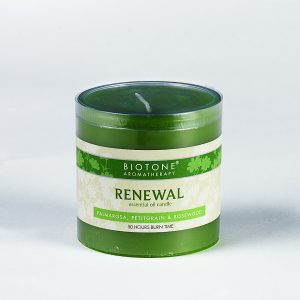 Essential Oil Pillar Candle - Renewal