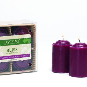 Essential Oil Votive Candles - Bliss