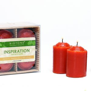 Essential Oil Votive Candles - Inspiration