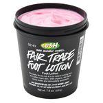 Fair Trade Foot Lotion